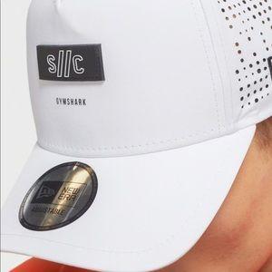 GymShark X Steve Cook: White SnapBack Hat